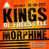 DJ Morphine, Freestyle, Live @ Kings of Freestyle, Grenswerk 2017