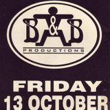 """Zzino at """"3 Years B&B"""" at Montini (St Truiden - Belgium) - 13 October 1995"""