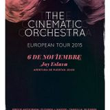 The Cinematic Orchestra@Back2Black Radio Madrid