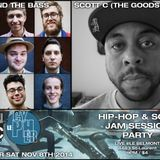 #LECYPHER WEEK 5 2014/11/08 // BUSTY AND THE BASS + SCOTT C // hip-hop & soul jam session
