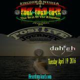 Positive Journey Tuesday April 19 2K16