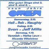 Sven Väth & Jeff Mills @ 9 Jahre Omen - Omen Frankfurt - 03.10.1997