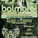 dj Vince Nova @ 49 Years Balmoral 14-09-2012