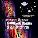 FallStar ---> SPACETIME... deep, minimal  Live Mix 29.06.2015
