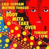 Body Meta on Mother Tongue Radio CJLO 1690 AM - Dec 12, 2016