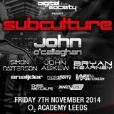 Simon Patterson - Subculture, Digital Society (Leeds UK) – 07.11.2014