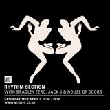 Rhythm Section w/ Moodhut - 18th April 2015