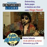 6° Edição do Estúdio Livre - com Diego Nassif