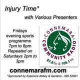 Connemara Community Radio - 'Injury Time' with Eamomnn McLoughlin - 7dec2018