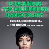 DJ Barticus Y2k Millennium Dance Party