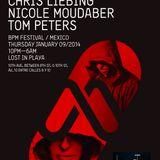 Nicole Moudaber - Live @ Lost Avenue The BPM Festival (Mexico) 2014.01.09.