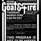 Knife Party - Goat and Fire Live from Miami - 22.03.2012