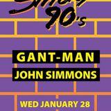 "DJs John Simmons & Gant-Man Live @ Smartbar, Jan. 28, 2015, ""Strictly '90s"" part 2, 12am-2am"