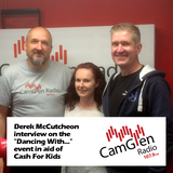 """Derek McCutcheon interview on the """"Dancing With"""" event for Cash for Kids, 16 May 2017"""
