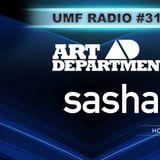 Sasha & Art Department - UMF RADIO 316 - 29-May-2015