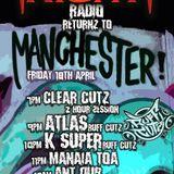 Clear-Cutz frightnightradio.net 2 hour badness 18-5-18