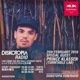 Diskotopia Radio 25th February 2016 w/ Prince Klassen
