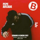Pepe Arcade All Night Long at El Barbero 14.01.17
