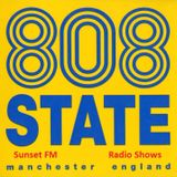 808 State @ 808 State Show - Sunset FM Manchester - 04.09.1990
