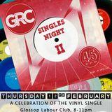 Glossop Record Club: SINGLES NIGHT II (February 2015)