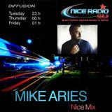 Mike Aries Nice Mix #4 @ Nice Radio  102.3  ( Avril 2018 )