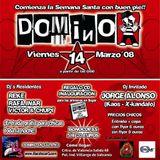 Dj Reke vs Jorge Alonso @ Domino (N3, Villarejo de Salvanes, 14-03-08)
