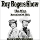 """Boxcars711 Overnight Western """"Roy Rogers Show"""" - The Map (11-30-51)"""