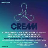 Michael Gray live at Groove.box presents Cream Nottingham 9th Feb 2019