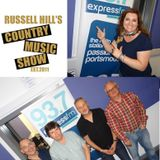 Russell Hill's Country Music Show on Express FM feat. The Hicksville Band + Shantell Ogden. 06/08/17