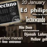 Mike Deem @ Techno Am Markt Menen  20-01-2018