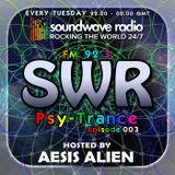 SWR Psy-Trance FM - hosted by Aesis Alien - Episode 003