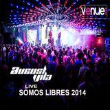 August Vila live @ SOMOS LIBRES 2014 club venue CR