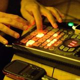 D'Anthony Live beatmaking/fingerdrumming lo-fi SP-404 set Bougainvillea Bar Prague 10 March 2017