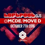Leftfoot DJs @ MCDE, Move D, The Blackbox, Birmingham
