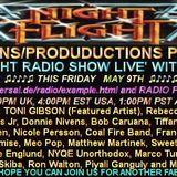 The Nightflight Radio Show from May 9th 2014 with DJ McScotty aka Steve Perz