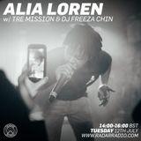 Alia Loren w/ Tre Mission Freeza Chin Merky Ace - Radar Radio 12th July 2016.