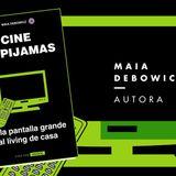 """Entrevistamos a Maia Debowicz por la salida de su nuevo libro """"Cine en Pijamas"""" #FAN211"""