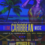 _ I LOVE CARIBBEAN MUSIC_ PROMO OCTOBER 6 2017
