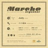 2016.3.10 thu Marche at Shibuya Organ bar 1st set