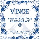Dj Vince live @ Decade 1990-2000  22-02-2014