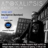 Andy Argentum@ApoKALIpsis Radioshow 8.09.2k17 [Full Version] (Megapolis FM 89,5)