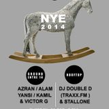 Alam @ NYE Nagaba - Ground Entre14 (Downstairs) -31.12.13 [House set]