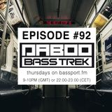 BASS TREK 92 with DJ Daboo on bassport.FM