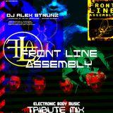 Dj Alex Strunz @ Front Line Assembly Tribute 2015