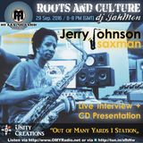 Jerry Johnson Saxman 40+ years in the business and on grammy award winning albums speaks to omyRadio