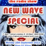 THE JOHNNY NORMAL RADIO SHOW 19 - 16TH SEPT 2013 NEW WAVE SPECIAL