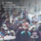 DJ Three – Robot Heart - Burning Man 2015