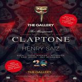 Claptone  -  Live At The Gallery pres. The Masquerade, Ministry Of Sound (London)  - 24-Apr-2015