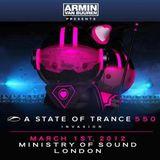 Paul Oakenfold @ A State of Trance 550 - London, UK - 2012-03-01