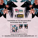 "Transmisión en vivo de ""Ethnic"", nuevo disco de Oscilador Bass-083117"